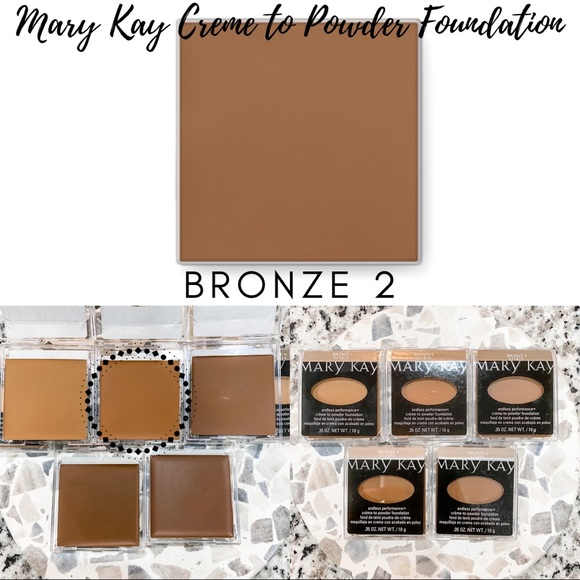 Mary Kay Creme to Powder Foundation In Bronze 2